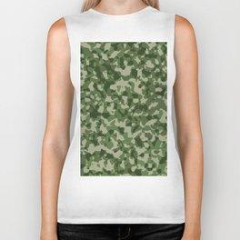 Military Jungle Green Camouflage Biker Tank
