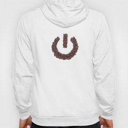 Powered By Coffee. Hoody