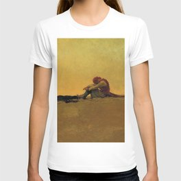 """""""Marooned"""" Pirate Art by Howard Pyle T-shirt"""