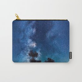 The World Above (Perfect Night Sky with Stars) Carry-All Pouch