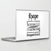 warhammer Laptop & iPad Skins featuring Librarian quote, Warhammer 40K by ZsaMo Design