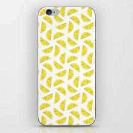 Lemon Wedges iPhone Skin