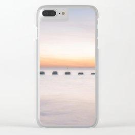 Dusk Sea Clear iPhone Case