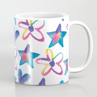 girly Mugs featuring Girly by mariorigami