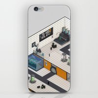 monster inc iPhone & iPod Skins featuring Monster Labs Inc. by Allen Amin