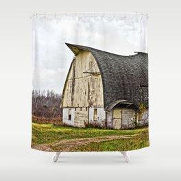 Wisconsin Old Barn 1 Shower Curtain