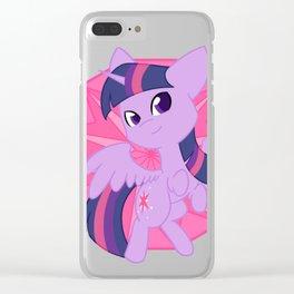 Chibi Princess Twilight Sparkle Clear iPhone Case