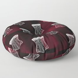 Corset pattern Floor Pillow