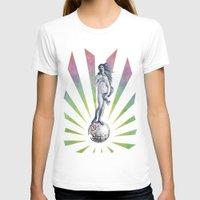 disco T-shirts featuring Disco Venus by Angelo Cerantola