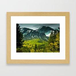 Scenic Mountain Framed Art Print