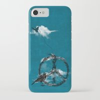 sewing iPhone & iPod Cases featuring sewing birds by frederic levy-hadida