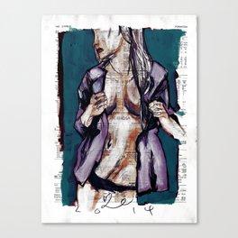 manners + physique Canvas Print