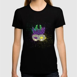 Mardi Gras Party Mask T-shirt