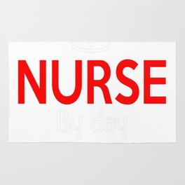 NURSE BY DAY WORLD'S BEST MOM BY NIGHT Rug