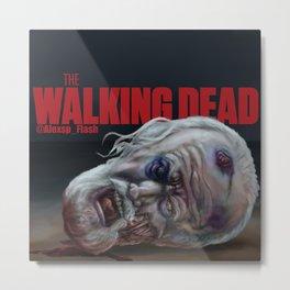 The Walking Dead Hershel Metal Print