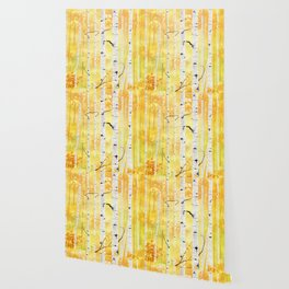Autumn Birch Wallpaper