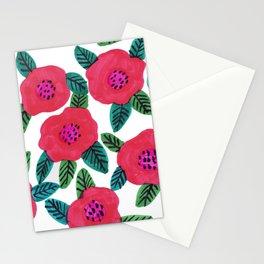 poppy garden Stationery Cards