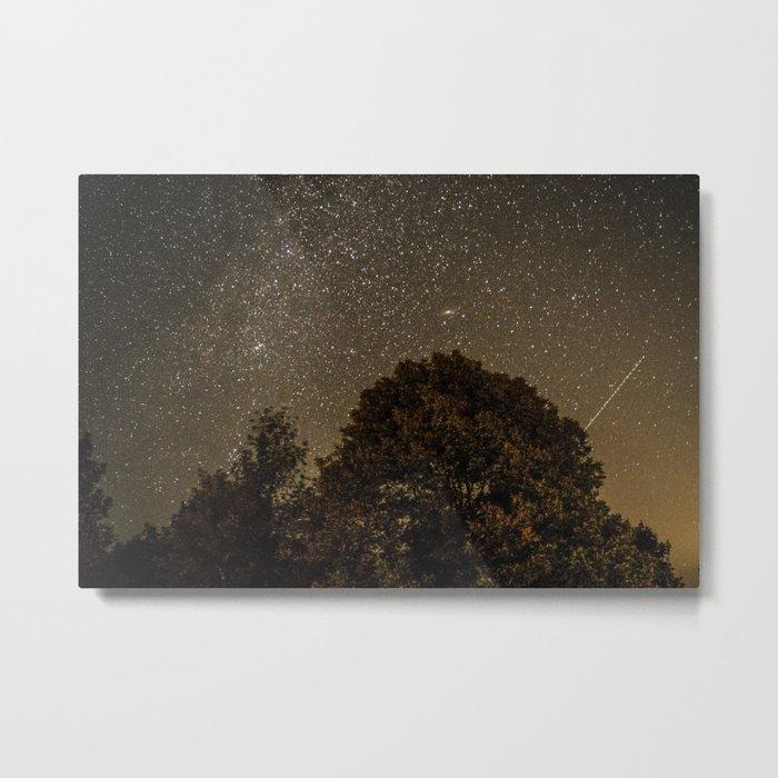 Starry Night Sky 2 Metal Print