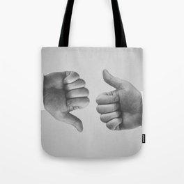 Ups and Downs Tote Bag