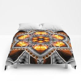 Metal & Flame Mandala Comforters
