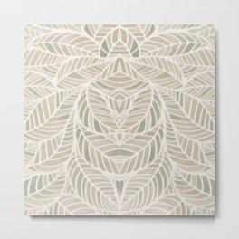 Natural in Natural Metal Print