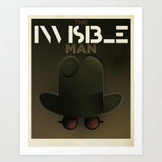 Cassandre Spirit - The invisible Man Art Print