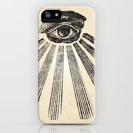 All Seeing Eye Art Print iPhone Case