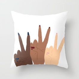 You got this, Babe Throw Pillow