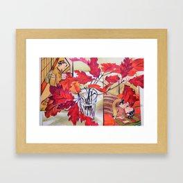 Japanese Autumn Dream Framed Art Print