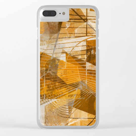 Breakdown Clear iPhone Case
