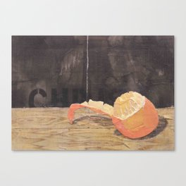 The peel  Canvas Print