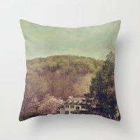 renaissance Throw Pillows featuring Renaissance by Maggie Green