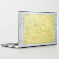 walrus Laptop & iPad Skins featuring Walrus  by Caitlyn Cold