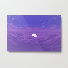 Moonburst V2 Metal Print
