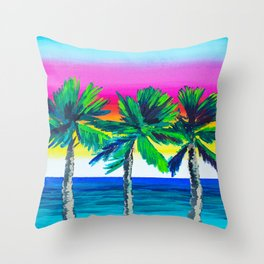 Inspire by trees Throw Pillow