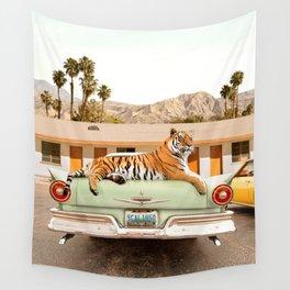 Tiger Motel Wall Tapestry