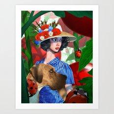 Tomato Princess Art Print