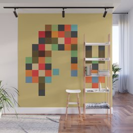 Mid Century Textile Series 1_2 Wall Mural