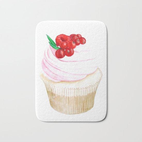 Classic Cupcake Bath Mat