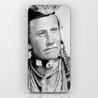 native american iPhone & iPod Skins featuring Native American by chomaee
