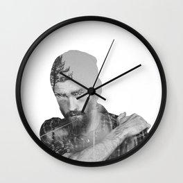 Roads to Nowhere Wall Clock