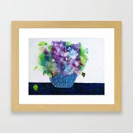 Purple Flowers I Framed Art Print