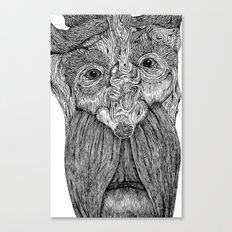 Tree Person Canvas Print