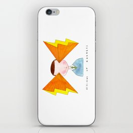 visions of radness iPhone Skin