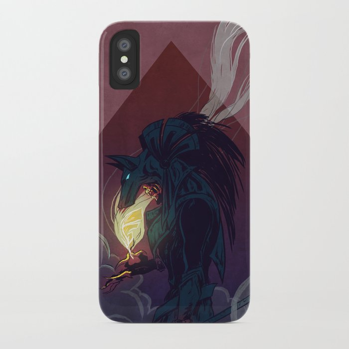 Anubis iPhone Case
