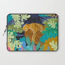 Sleeping Panther Laptop Sleeve