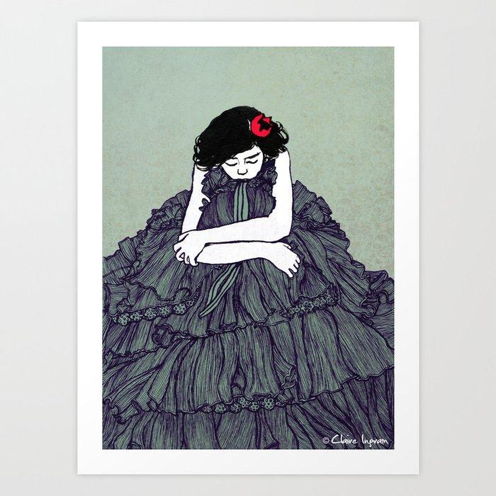 Ink 001 Art Print