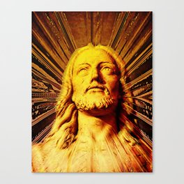 Because He Lives I Can Face Tomorrow Canvas Print