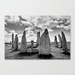 Stone Circle Callanish Stones Canvas Print