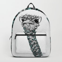 Poetic Ostrich Backpack